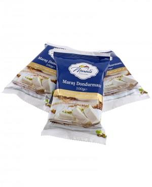 Marasta Dilimli Sade Kesme Dondurma (1kg)