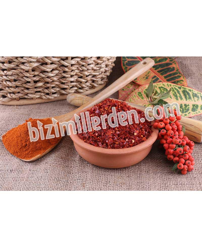 Maraş Ekstra Acı İpek Pul Biber (1kg)