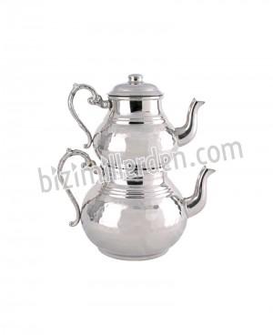 Bakır Çaydanlık 1200 gr (Büyük)