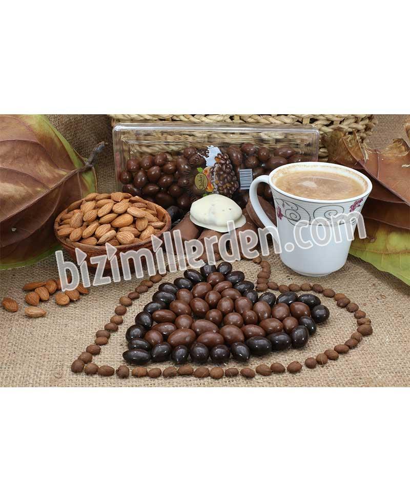 DRAJE - İçi Kayısı Çekirdeği Dışı Çikolata 500gr