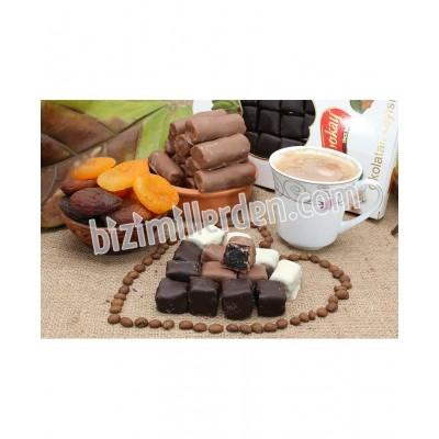 Kare Kayısı Çikolatası 500gr