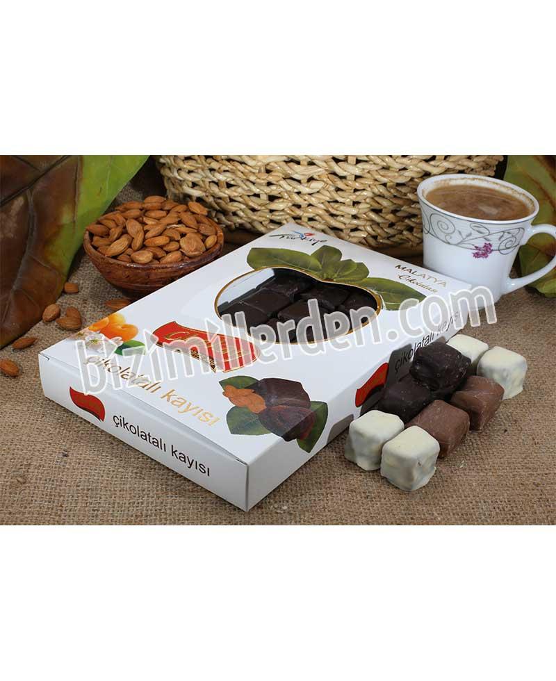 Özel Kutulu Kayısı Çikolatası 500gr