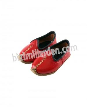 Kırmızı Çocuk Osmanlı Çarığı-3