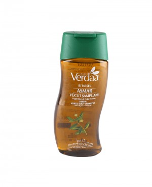 Bitkisel Asmar (Mersin) Vücut Şampuanı-Banyo Köpüğü 300ml